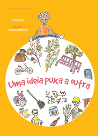 Capa do audiolivro UMA IDEIA PUXA A OUTRA